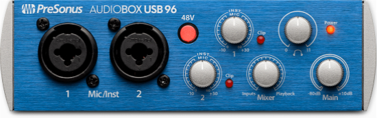 AudioBox USB 96 及 AudioBox 96 Studio 录音套装